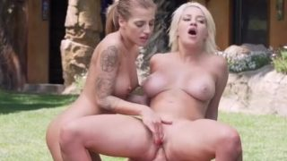 Sienna Day and Silvia Dellai Lifeguards Fucked in Bootcamp
